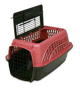 Petmate Top & Front Load 19x12in Carrier for Pets up to 10lbs