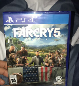 Brand new (packed) FarCry 5 playstation version $65