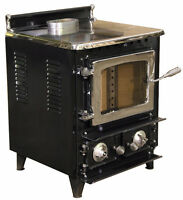Flameview Wood Stove Heater Certified New! Starts @ 1,700.00 London Ontario Preview
