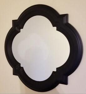 Barbed Quatrefoil Design Mirrors