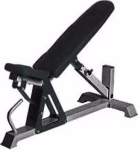 Northern Light Stealth Commercial Adjust Bench-Max Cap 1000 lbs