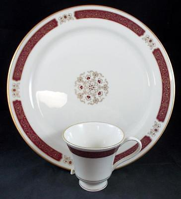 Pickard WELLINGTON Dinner Plate + Cup (no saucer) MINT SHOWROOM INVENTORY