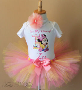 Personalized Birthday shirts and tutu outfits