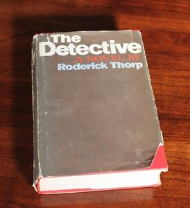 The Detective A Novel By Roderick Thorp 1966 Hardcover