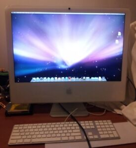 """24"""" iMac Core 2 duo FOR PARTS"""