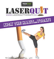 Laserquit is coming to you! Almost monthly
