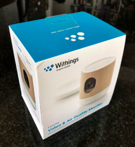 SmartHome Security HD Camera and Air quality monitor - brand new
