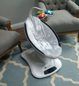 NEWEST MODEL MAMAROO - Like New, Barely Used - Silver Plush