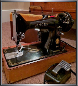 Mid Century Singer Mdl 99K Sewing Machine-Tough to Let go Of!!
