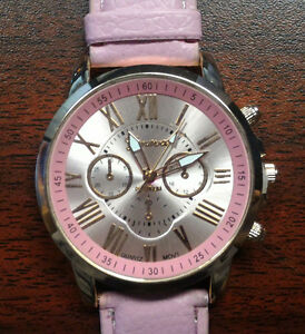 Fashionable Pink Watch, Brand New