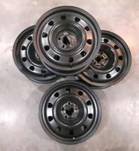 BRAND NEW Four 17 inch Steel Wheels with sensors