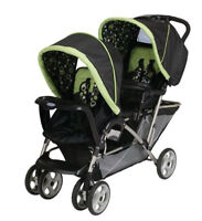 Double stroller / Pousette double (Graco Duo Glider Odyssey)