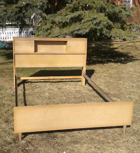 ON HOLD Mid Century Modern Double Bed