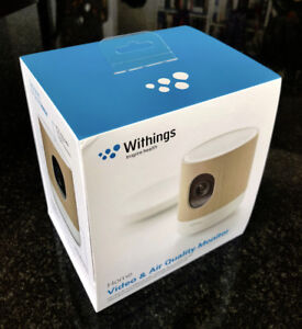 Home Security HD Camera / Air quality monitor - brand new