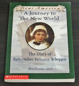 A Journey to the New World - The Diary of Remember Patience Whip