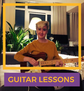 Guitar Lessons with Meghan Chamberlain ($40/hour lesson)