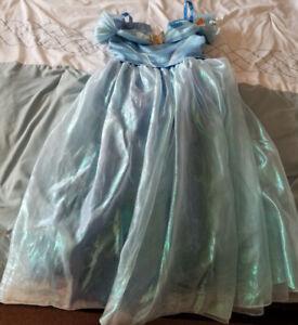 Cinderella Dress in Size 7/8 + Crown & Ring - $40