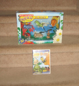 Max Lucado Hermie and Friends Buzby DVD and Playset