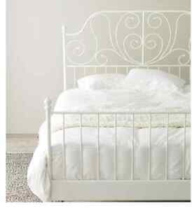 King Wrought Iron Bed Frame Brand New In the Box
