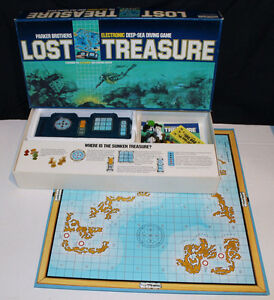 Vintage Electronic LOST TREASURE board game London Ontario image 2