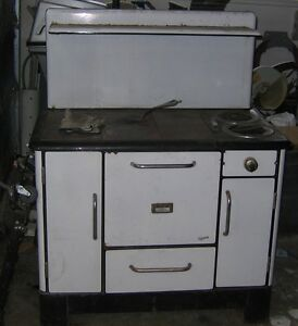 Combination Wood and Electric Kitchen stove