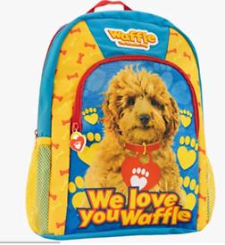 Waffle the dog kids bag