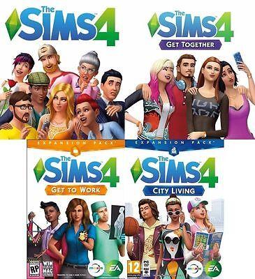 The Sims 4   3 Dlc  Pc Mac    Downloadable