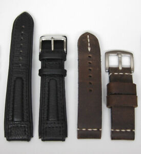 For sale: like new 20mm leather watch straps