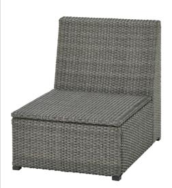 IKEA Solleron dark grey one seat section Brand New Unopened