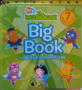Big Book of Backyard Adventures Book - The Backyardigans