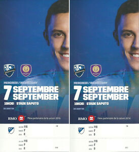++MONTREAL IMPACT vs Orlando FC Tickets for Sale++(Behind Net)