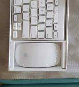 Clavier apple keyboard 59$ /Magic mouse 59$ Comme neuf presque p
