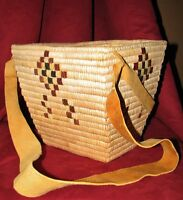 Traditional Berry Picking Basket from the Lil'wat Nation