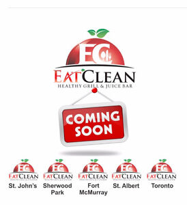 Eat Clean Healthy Grill & Juice Bar Franchises