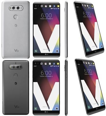 LG V20 H910 AT&T + GSM UNLOCKED SILVER GRAY 4G LTE 64GB 16MP 4GB RAM SMARTPHONE