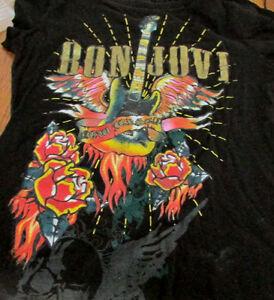 Bon Jovi Concert Jersey size small