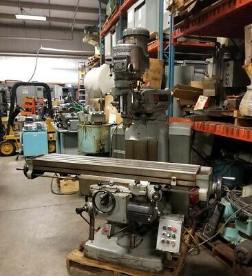 Bridgeport Series Ii Milling Machine Inv.18554
