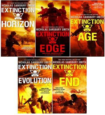 The Extinction Cycle Series Collection Set Books 1 5 By Nicholas Sansbury Smith