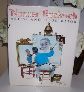 Norman Rockwell Artist and Illustrator Oversize Book