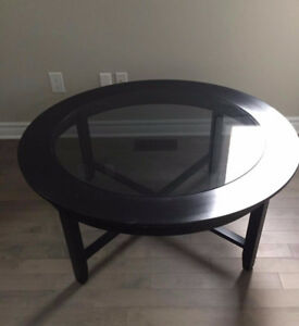 Coffee Table - Solid Maple and Glass