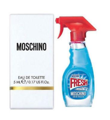 Moschino Fresh Couture Women Eau de Toilette Mini Splash 0.17 oz - New in Box - Moschino Womens Eau De Toilette