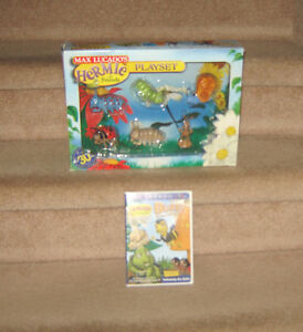 Max Lucado's Hermie and Friends DVD and Bug Play Set Strathcona County Edmonton Area image 1