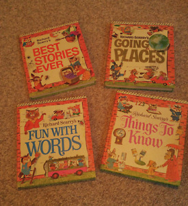Vintage Collectible - Richard Scarry's Look & Learn Library