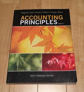 Accounting Principles - Volume 1 - Sixth Canadian Edition