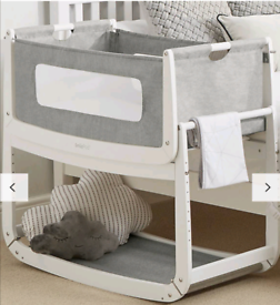 SnuzPod 3 Bedside Crib with Mattress