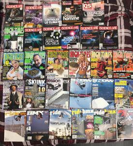 Magazines (lot) comme neuf