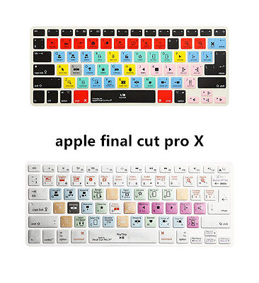 Final Cut Pro X Shortcut Keyboard Cover Skin for MacBook Air Pro 13 15