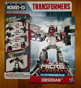Kre-O Transformers Micro Changers Combiners Obsidian 75 PCS
