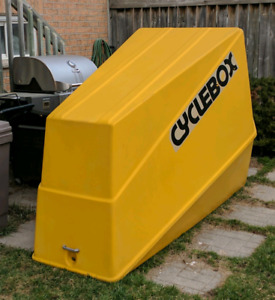 Great shape Cycle Box for sale winter storage unit