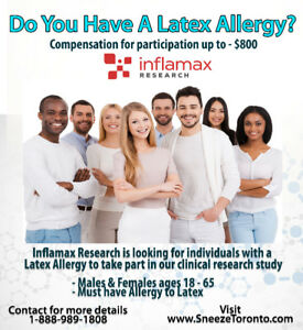 Latex Allergy Research Study